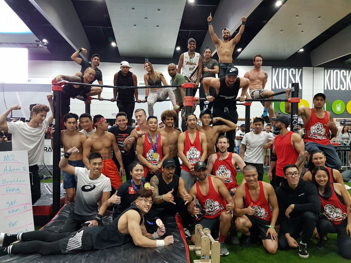 calisthenics group melbourne